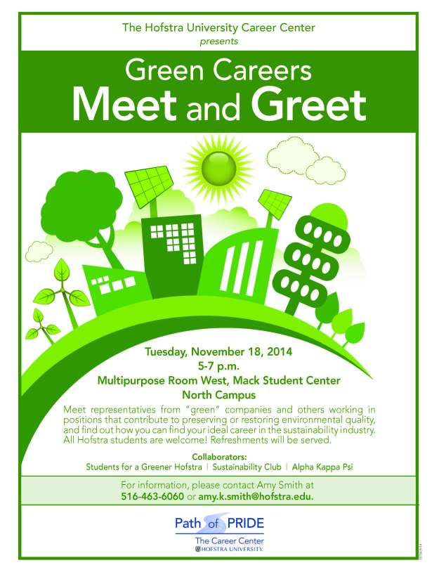 Flyer - Green Careers 11-18-14