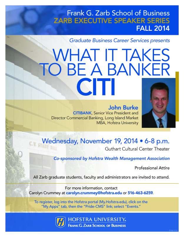 John Burke CITI SVP Commercial Banking