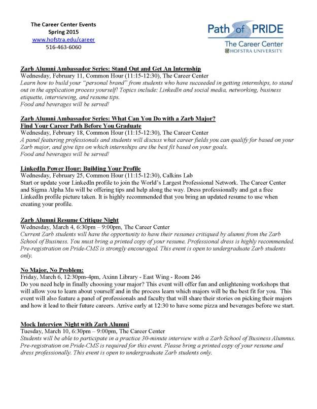 Career Center Spring 2015 list of events_Page_1_Page_1