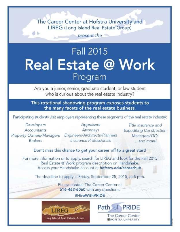 Fall 2015 Real Estate