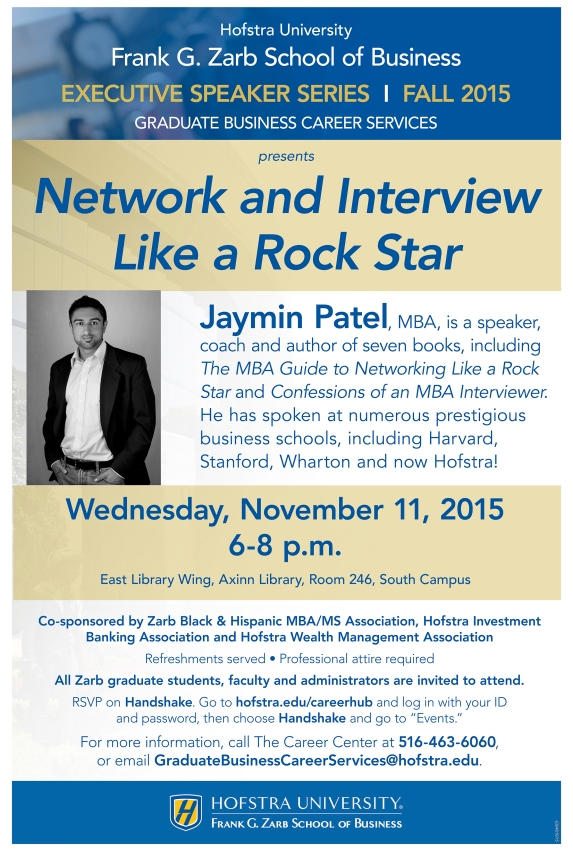Zarb Executive Speaker Series_Patel